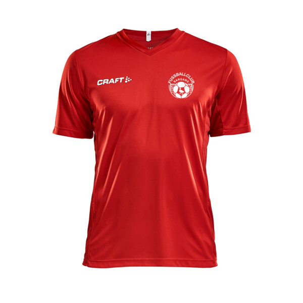 Craft Squad Jersey Solid Erwachsene rot
